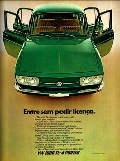 VW TL 4 door 1.600,BRASIL                                                                                                                                                      Mais
