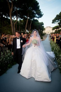 Nell Diamond and Teddy Wasserman's Wedding at the Hôtel du Cap-Eden-Roc in Antibes – Vogue