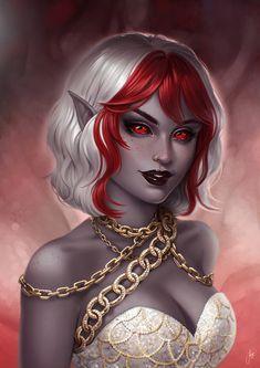 Fantasy Art Angels, Fantasy Art Women, Dark Fantasy Art, Fantasy Girl, Fantasy Dress, Dungeons And Dragons Characters, Dnd Characters, Fantasy Characters, Female Characters