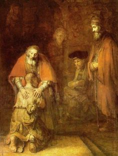 Rembrand's The Return of the Prodigal Son