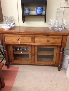 I Have Always Loved This Bevel Top Design Available In Larger Size With Hutch