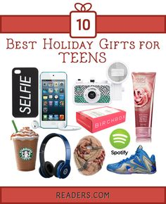 Teenage christmas gifts ideas
