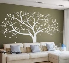 Giant Family Tree Wall Sticker Vinyl Art Home Decals Room Decor Mural Part 65