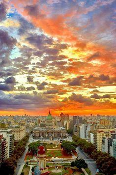 Buenos Aires, mi ciudad por siempre, adonde quiera que esté.    #SoyPorteña #TeAmoBuenosAires. Argentina.