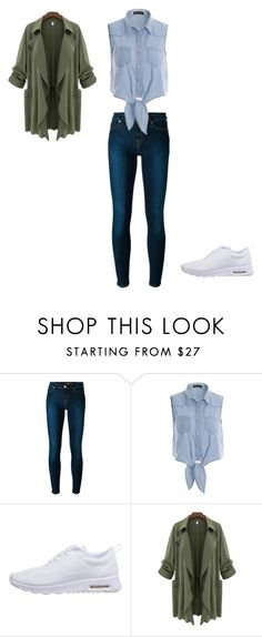 """Unbenannt #948"" by littlewonder2504 ❤ liked on Polyvore featuring 7 For All Mankind, NIKE, women's clothing, women, female, woman, misses and juniors"