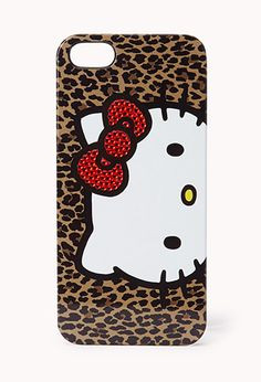 Hello Kitty Phone Case | FOREVER21 - 1000074186 I NEED THIS!!