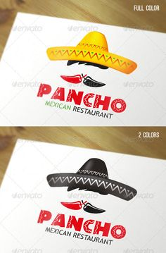 Logo Templates - Mexican Restaurant Logo | GraphicRiver