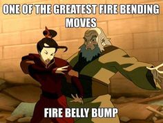 belly bump uncle iroh - Google Search