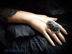Bague art nouveau, bague gothique, bijoux art nouveau, bijoux gothique,bague art déco,bijoux art déco,Lalique,Bijoux scarabée,bague scarabée de la boutique LaPetiteDidine sur Etsy