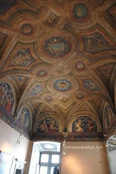 borgia apartments in the vatican, ceiling