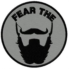 e7506210e2 OMLpatches.com - FEAR THE BEARD MORALE PATCH