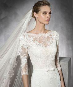 Pronovias > TANE - Vestido de novia de color con encaje