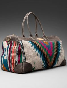 Great bag--I'd love a weekend bag like this.