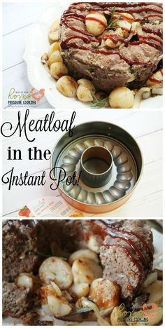 """""""Meatloaf again""""!~ That's a little inside joke between my family and I. You see long before the Instant Pot came into my life, my big GO-to once a week meal was meatloaf. It was e…"""