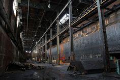 abandoned sugar refinery brooklyn