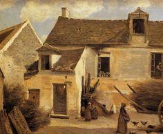 Corot-Cour_d_une_maison_de_paysans_aux_environs_de_Paris.jpg (727×600)