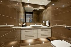 Bathroom built by Smith and Sons Doncaster Wall Hung Vanity, Room Tiles, Powder Room, Modern Bathroom, Kitchen Renovations, Mirror, Melbourne, Sons, Furniture