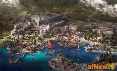 MARVEL, STAR WARS & More Revealed For New Disney Theme Park - http://www.afnews.info/wordpress/2015/07/15/marvel-star-wars-more-revealed-for-new-disney-theme-park/