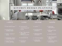 When designing a kitchen there are dozens of desicions that need to be made to ensure that it works for you now and in the future.  These are just some of the areas to consider.  Read more on the blog.  Second Wind Interior Design Oakville, Burlington