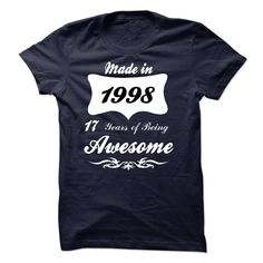 Made in 1998 T-Shirts, Hoodies. Check Price Now ==►…