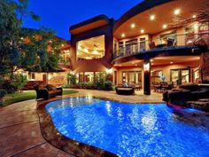 Amazing Courtyard Designed With Brown Wicker Sofa Set Faced Artistic Pool Plus Waterfall Appliance Natural Exterior with Courtyard Design Architecture Exterior Furniture Little Shanty. Stone Ornaments. Brick Ornament.