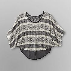 Dream Out Loud by Selena Gomez Junior's Lace Crop Top