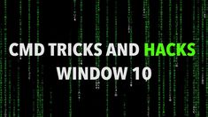 Best CMD commands used in hacking | UNIGLAX