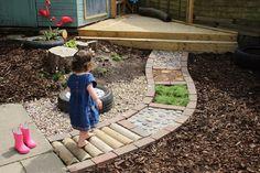 Mezítlábas ösvény készítése házilag! 13 zseniális ötlet, amihez nagy kert sem kell - Imádni fogja a gyerek