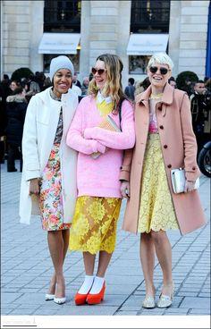 PatriJoo - - baby colors – Paris Fashion Week Source by kaeeclark Street Style, Street Chic, Street Fashion Ny, Paris Fashion, Pink Fashion, Fashion Outfits, Womens Fashion, Fashion Trends, Vogue Fashion