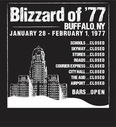 Blizzard of 77 Buffalo New York   Blizzard of '77. Borninbuffalo.net   Buffalo, New York Born and Raised