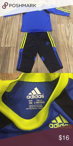 Baby adidas track suit jogger New size 3M adidas Matching Sets