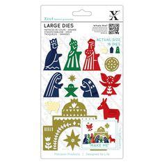 Large Dies - Nativity | docrafts.com