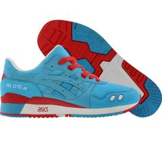 in a different color, but yessss. BAIT x Asics Gel-Lyte III Rings Pack - Blue Ring (blue / red) Love Fashion, Fashion Shoes, Mens Fashion, Fashion News, Asics Tiger, Asics Gel Lyte Iii, Fresh Kicks, Blue Rings, Cool Items