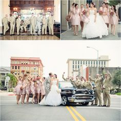 Lovely bridal party pictures by Jonathan Ivy Photography