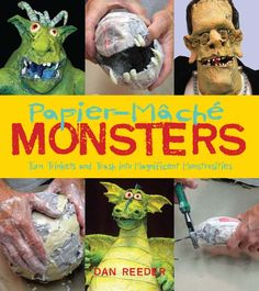 Gourmet Paper Mache - Dan Reeder's website. Time Lapses & Instructional videos - incredible work! :)