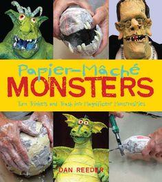 Gourmet Paper Mache - Dan Reeder's website. Time Lapses & Instructional videos - incredible work! :)