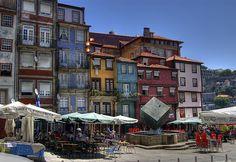 Oporto, Portugal / Aquí fui a parar la primera vez que crucé el charco. 1998