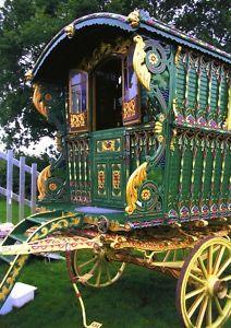 romani gypsi, travel wagon, gypsi caravan