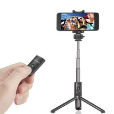 RIVERSONG S6 Mini Bluetooth 3.0 Wireless Remote Control Selfie Stick Tripod for iPhone 8 Plus X S8 Sale - Banggood.com Selfie Stick, Tripod, Iphone 8 Plus, Remote, Bluetooth, Smartphone, Mini, Accessories, Pilot