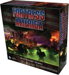 Fantasy Flight is bringing back another classic from the 80s: Fortress America. This preview covers the basics, for everyone like me that never tried the original.