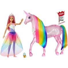 Superb Barbie Dreamtopia Magical Lights Unicorn Now At Smyths Toys UK! Buy Online Or Collect At Your Local Smyths Store! We Stock A Great Range Of Barbie At Great Prices. Mattel Barbie, Barbie Doll Accessories, Doll Clothes Barbie, Barbie Dream, Barbie Horse, Princess Barbie Dolls, Unicorn Doll, Toys Uk, Toys