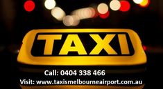The below article portrays you the reason behind the successful journey of Airport Taxi Service and the consequences of Melbourne airport taxi services and its stunning features