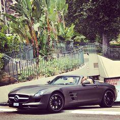 Mercedes AMG SLS in Monaco