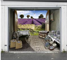 Tune Your Home With Garage Door Murals [NSFW]   Photos