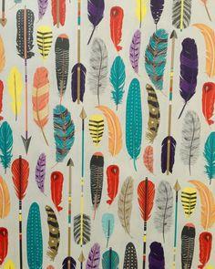 Tribal Feathers Black Cream Art Print By Bohemian Gypsy Jane