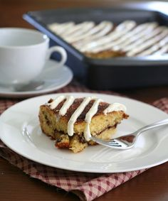 Low Carb and Gluten Free Cinnamon Roll Cake, Trim Healthy Mama - S