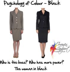 Psychology of Colour – Black and Dark Grey