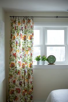 Curtain. From the Living With Kids home tour featuring Jillian Murphy.