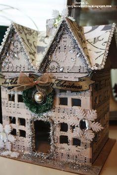 Little Honey Bee Studios: Little Christmas House