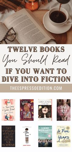 New to fiction books? That's okay! At theespressoedition.com you can find the best books to read if you'd like to branch out and try this genre. | #books #bookstoread #bestbookstoread #historicalfictionbooks #fictionbooks #romancebooks #fantasybooks books to read in 2021 | best books | book recommendations | books | book club books | 2021 reading list